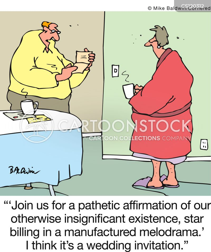 Wedding Invitation Cartoons And Comics Funny Pictures