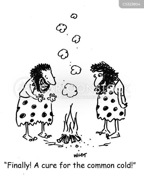 Sick Bug Cartoon