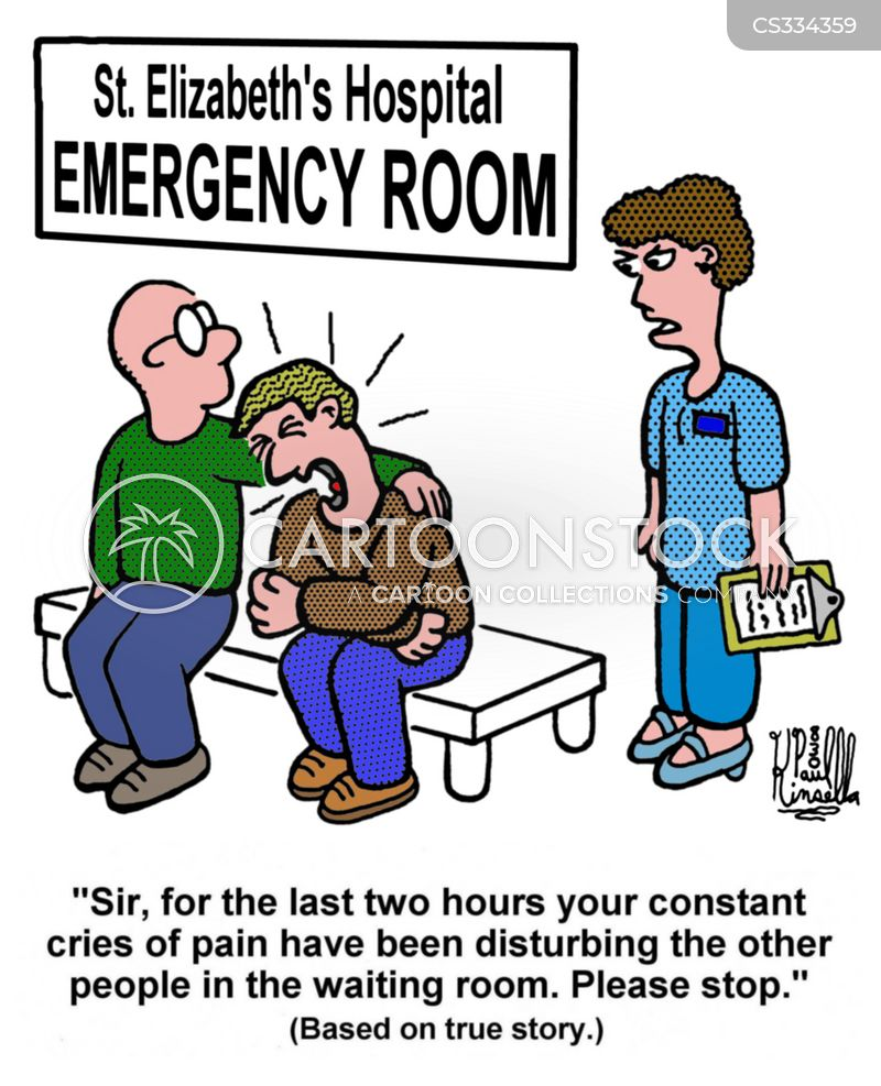 Agony Cartoons and Comics - funny pictures from CartoonStock