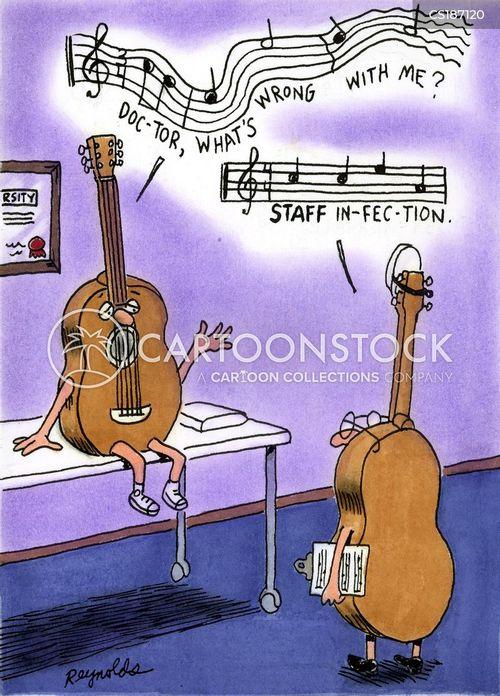 sheet music cartoons and comics