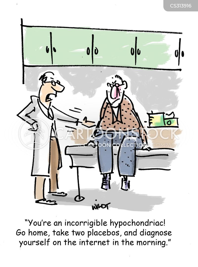 hypochondria medical news Hypochondria is when you're convinced you have a serious illness but actually  don't cbs news chief medical correspondent dr jon lapook.