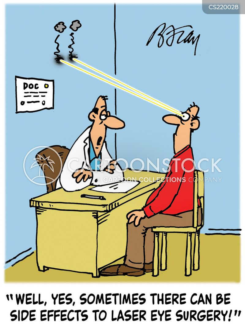 Laser Eye Surgery Cartoons And Comics Funny Pictures