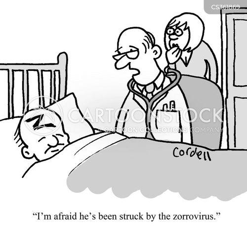 Flu Season Cartoons and Comics - funny pictures from ... |Flu Bug Cartoons