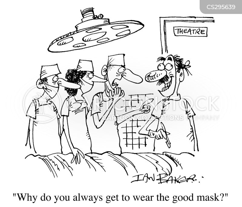 surgical equipment cartoons and comics