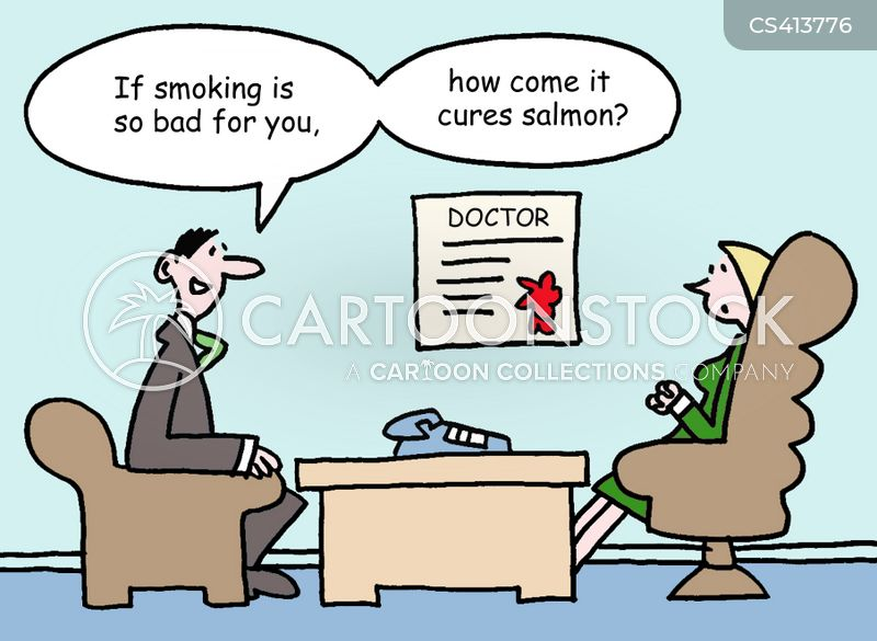 Funny Salmon Cartoon