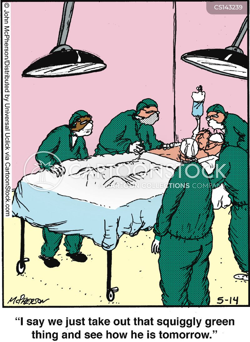 Operating Theater Cartoons And Comics Funny Pictures