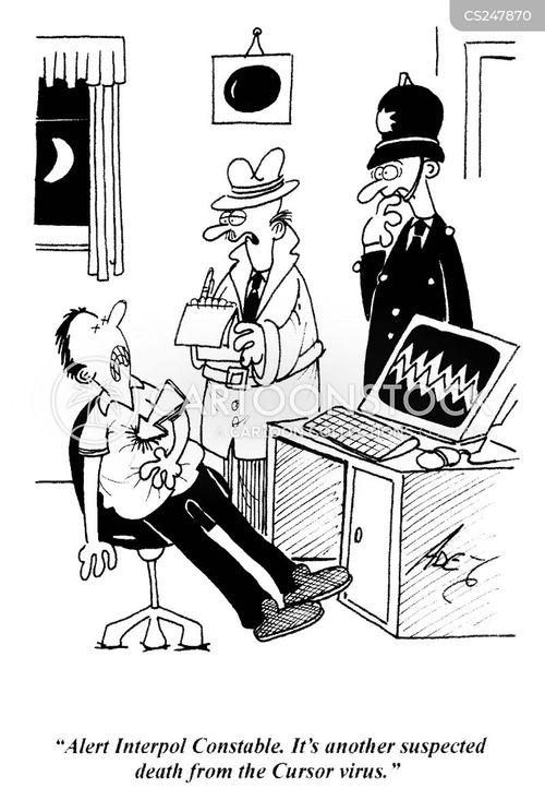 interpol cartoons and comics