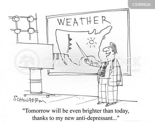 weather man cartoons and comics