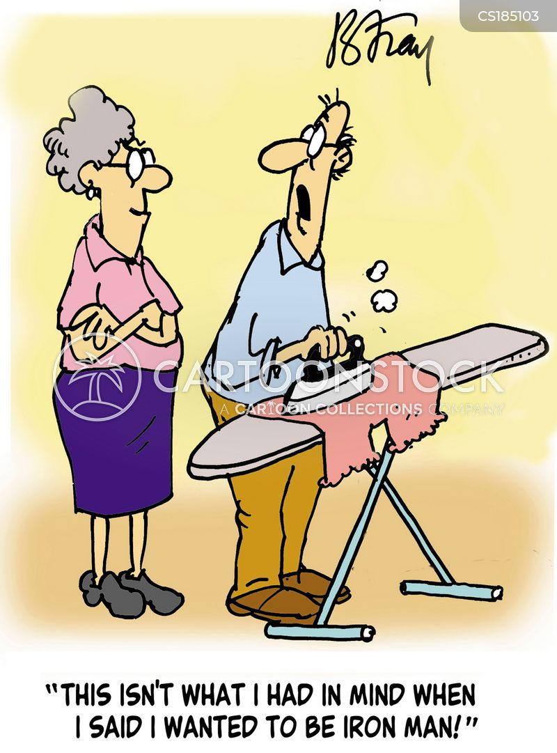 Ironing Cartoons And Comics Funny Pictures From Cartoonstock