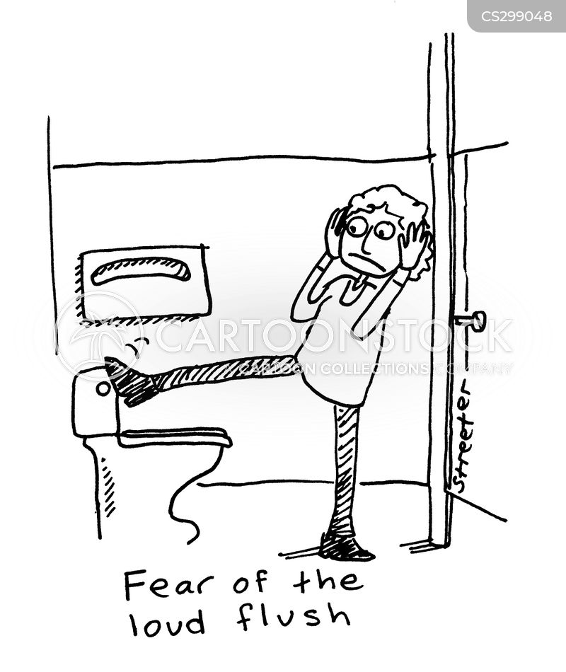 Unusual phobias cartoons and comics funny pictures from for Phobia of going to the bathroom