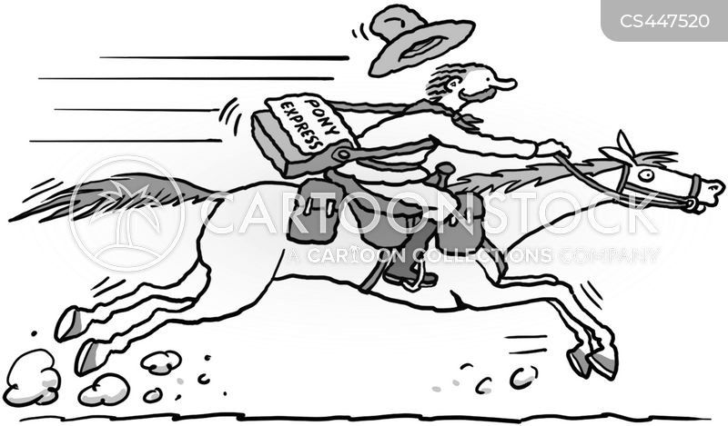 pony express coloring pages free - photo#17