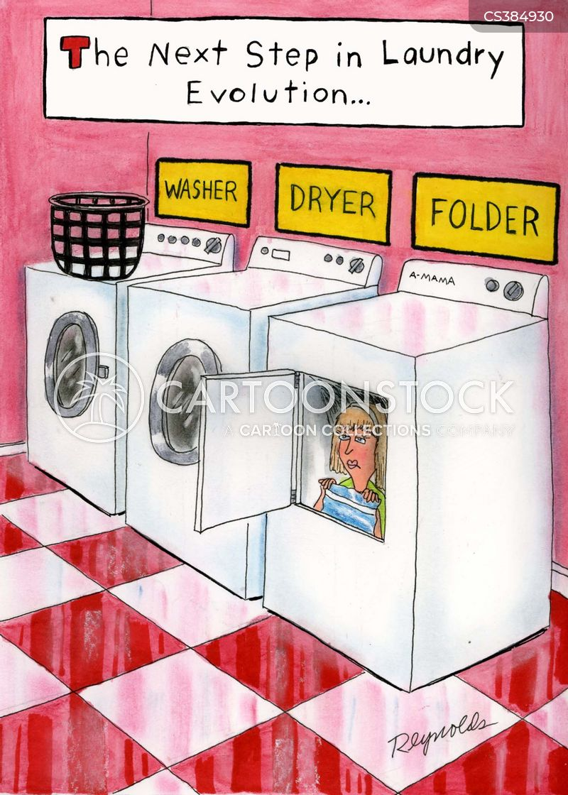 Funny Washing Machine ~ Laundry basket cartoons and comics funny pictures from