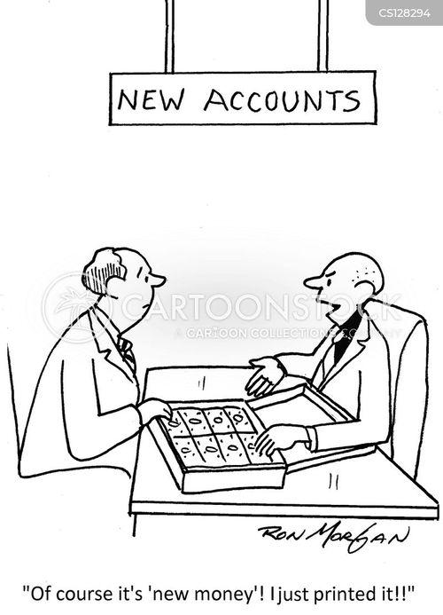 Printing Money Cartoons And Comics
