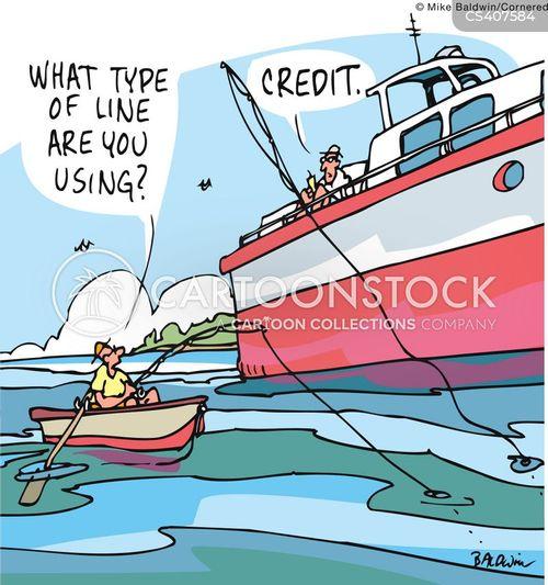 Credit Lines Cartoons and Comics