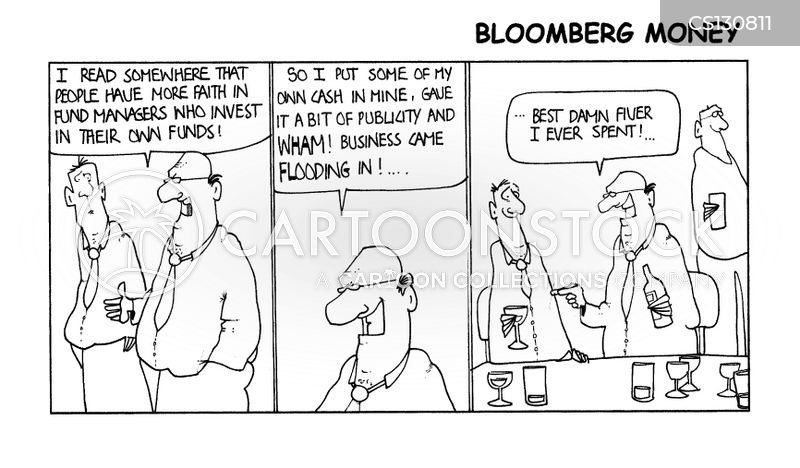 Fund Managers Cartoons and Comics - funny pictures from CartoonStock