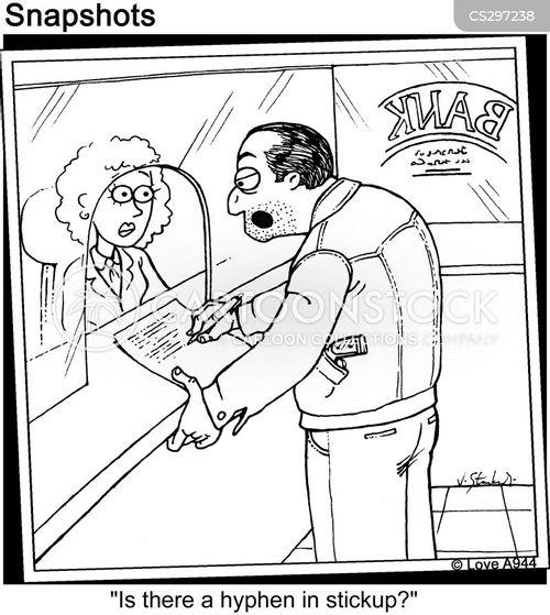 Hyphen Cartoons and Comics