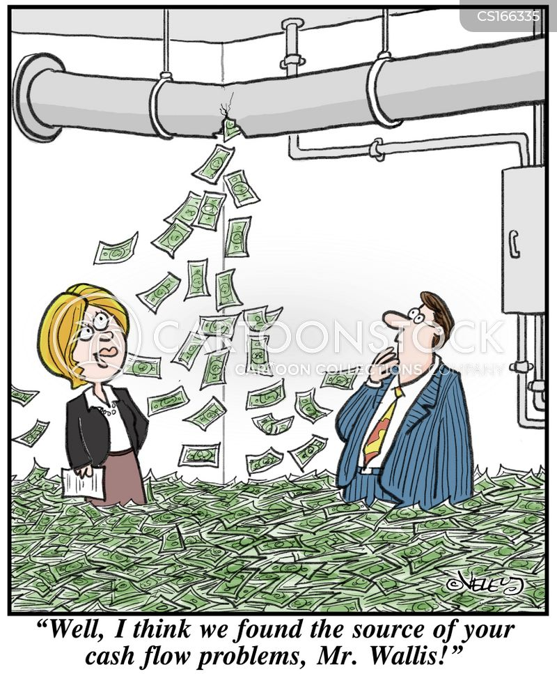 Cash Flow Cartoons And Comics Funny Pictures From