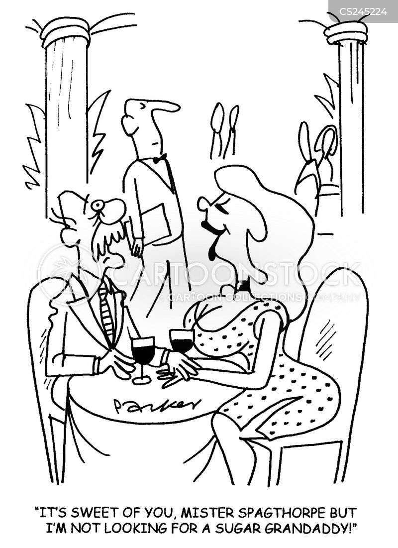 Rich old man cartoons and comics funny pictures from for Sugar daddy jokes