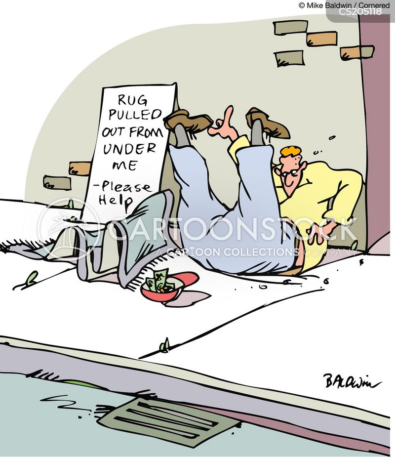 Rug Pulled Out From Under Me Cartoons And Comics Funny