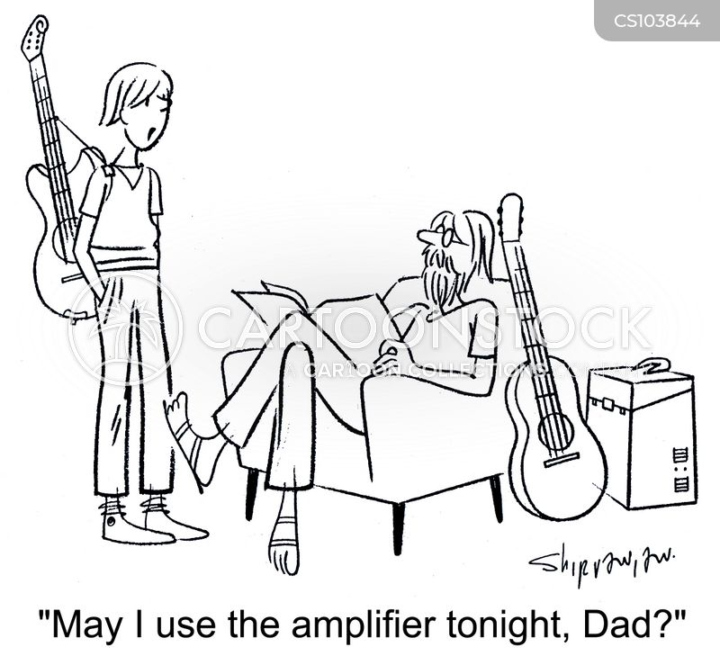 Amplifier Cartoons And Comics Funny Pictures From