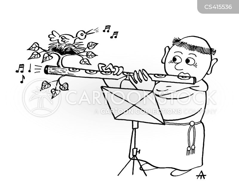 Flute Player Cartoons and Comics - funny pictures from ...