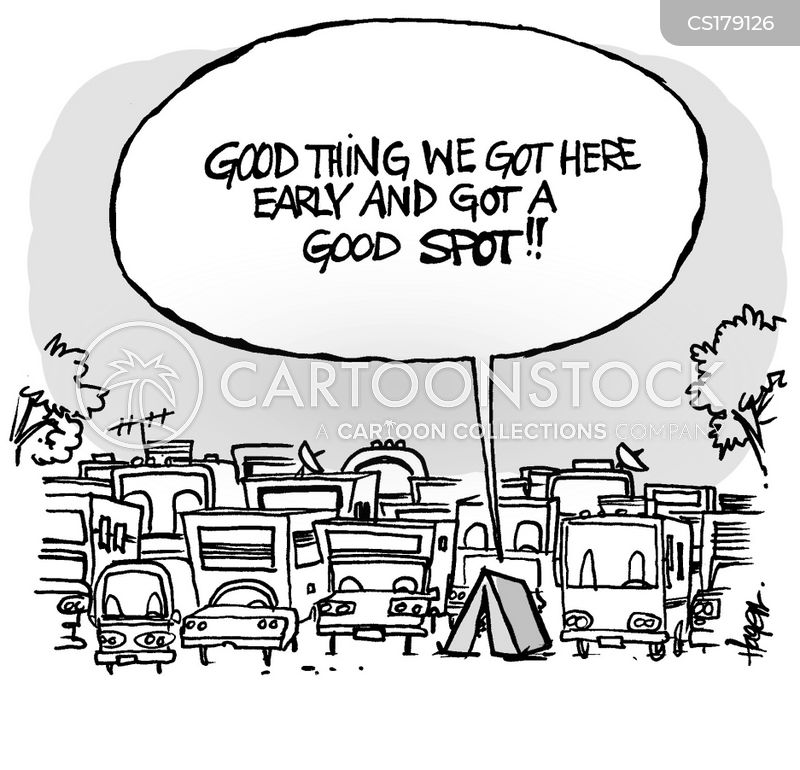 Campground Cartoons And Comics Funny Pictures From