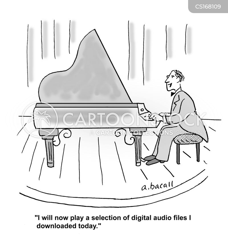 Piano Player Cartoons And Comics Funny Pictures From