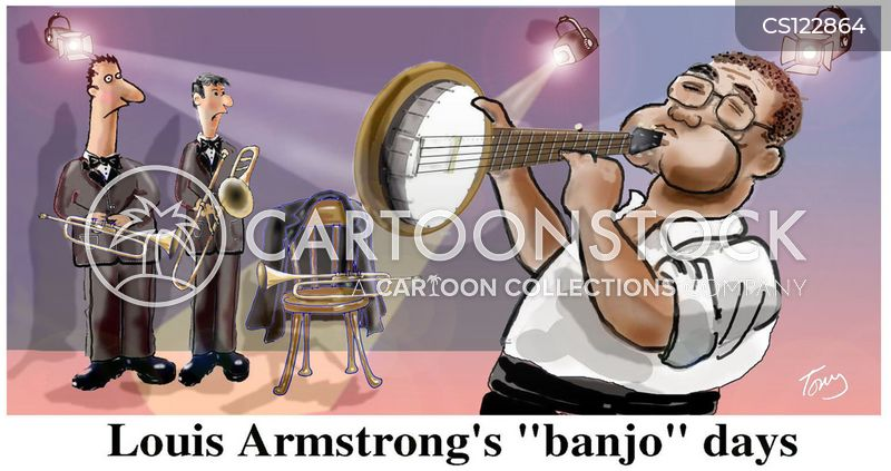 Louis Armstrong Cartoons and Comics - funny pictures from ...