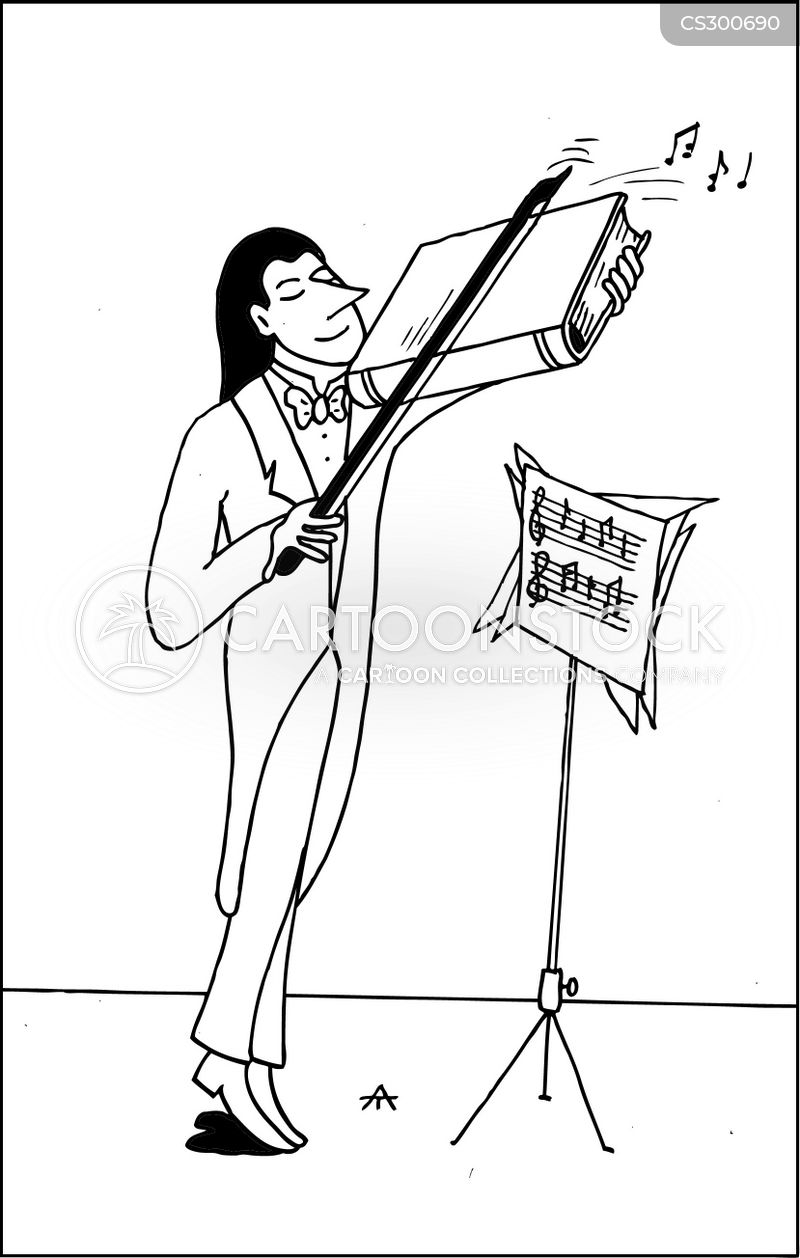 String Instruments Cartoons and Comics - funny pictures ...