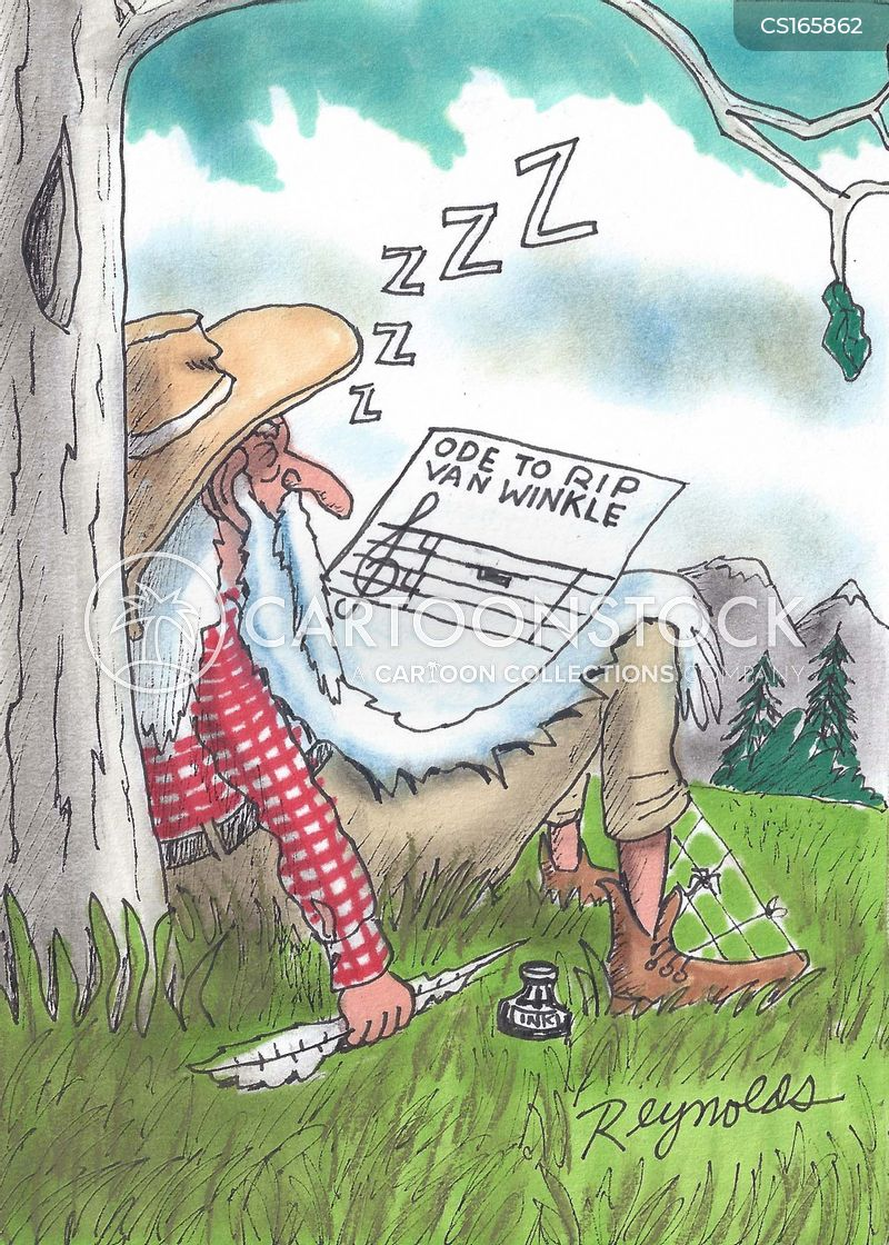 Rip Van Winkle Cartoons And Comics Funny Pictures From