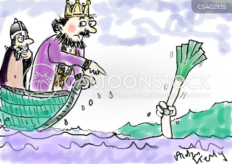 Arthurian Legend Cartoons and Comics - funny pictures from ...