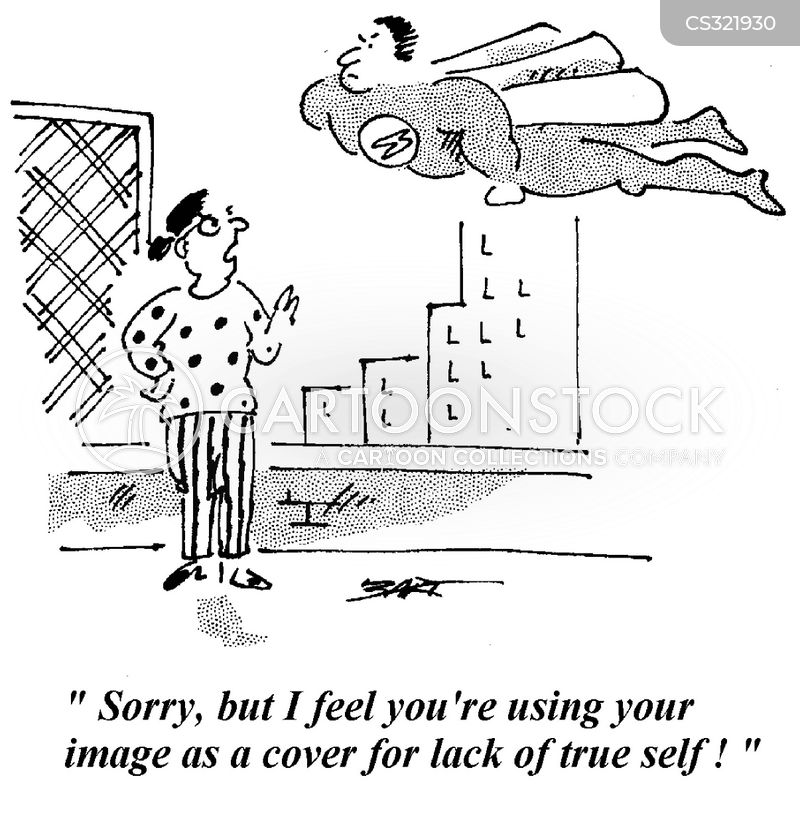 Self Concept Cartoons And Comics Funny Pictures From Cartoonstock
