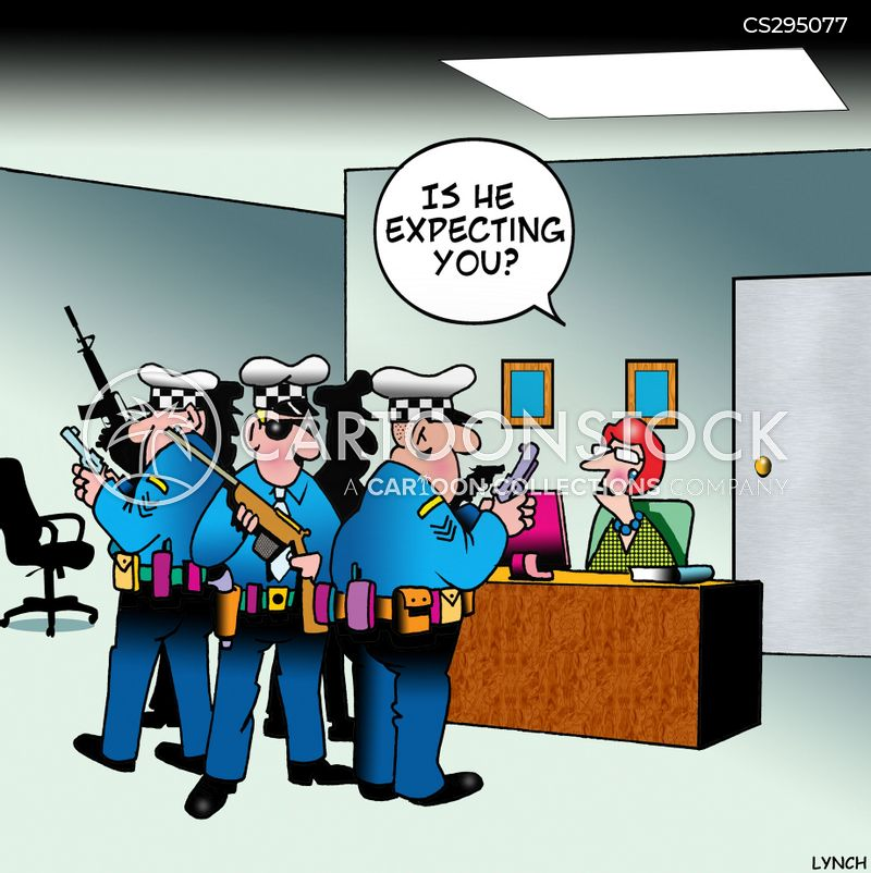 Police Raid Cartoons And Comics Funny Pictures From