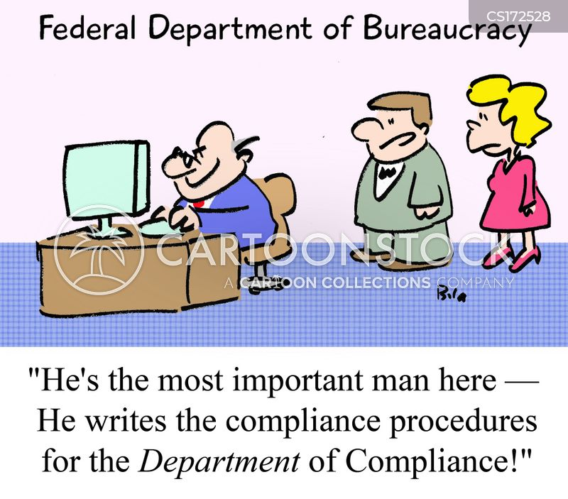 Compliance cartoons and comics funny pictures from - Qualifications for compliance officer ...