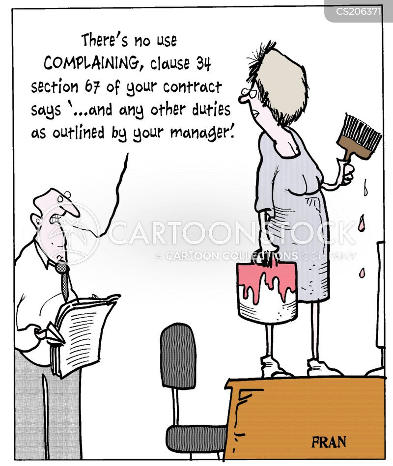 Job Contracts Cartoons And Comics Funny Pictures From