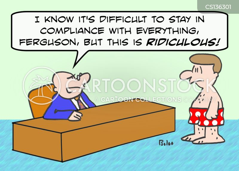 Non Compliance Cartoons And Comics Funny Pictures From