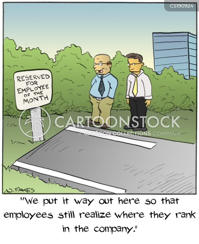 Employee Parking Cartoons and Comics - funny pictures from ...