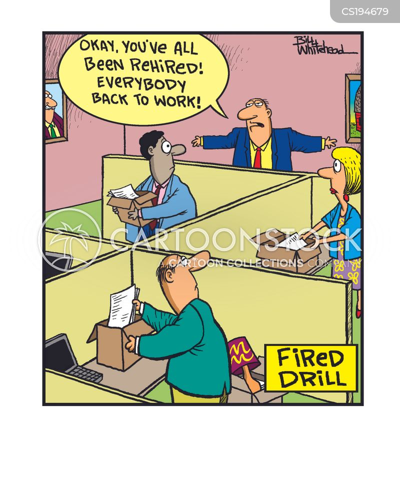 fire drills cartoons and comics funny pictures from