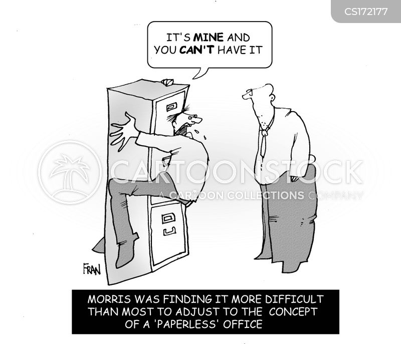 Filing Cabinet Cartoons And Comics Funny Pictures From
