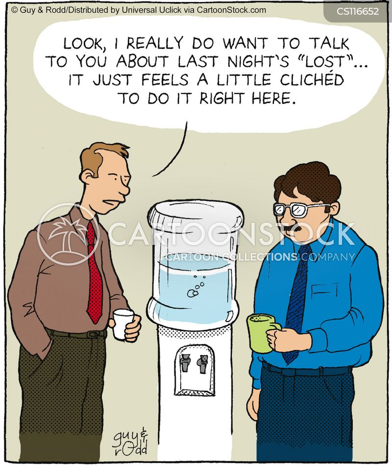 Friday Funnies: The Water Cooler