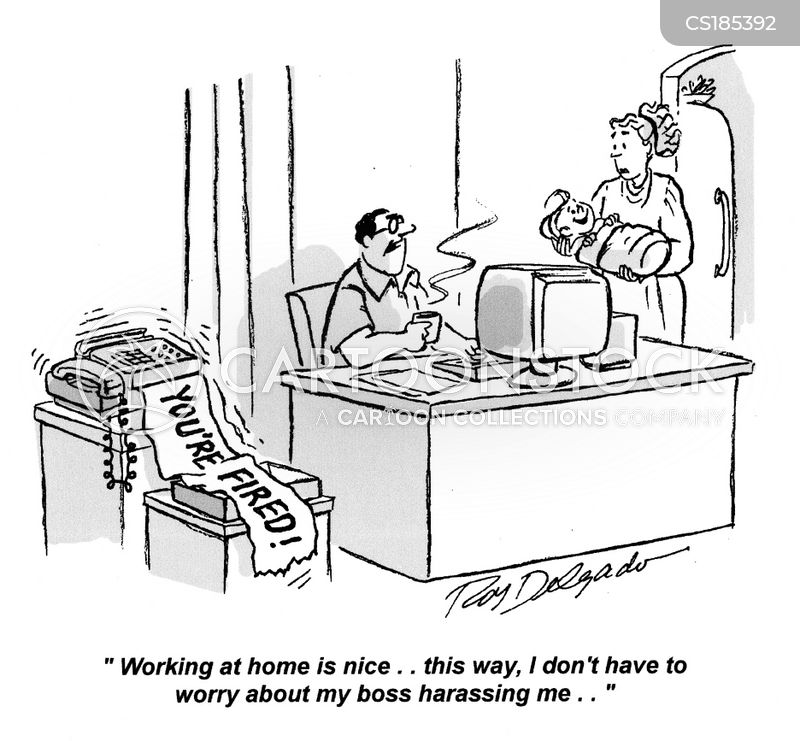 Works From Home Cartoons And Comics