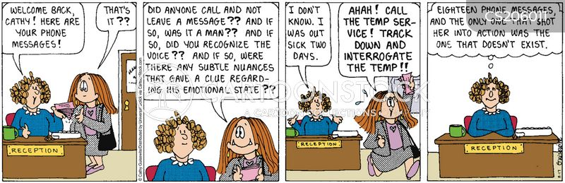 Phone Message Cartoons And Comics Funny Pictures From