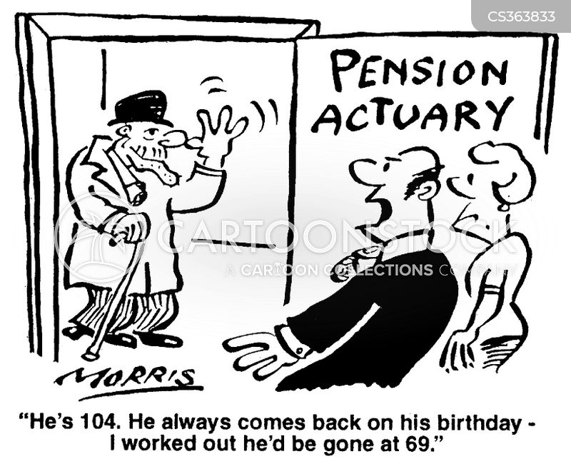 Actuary Cartoons and Comics - funny pictures from CartoonStock
