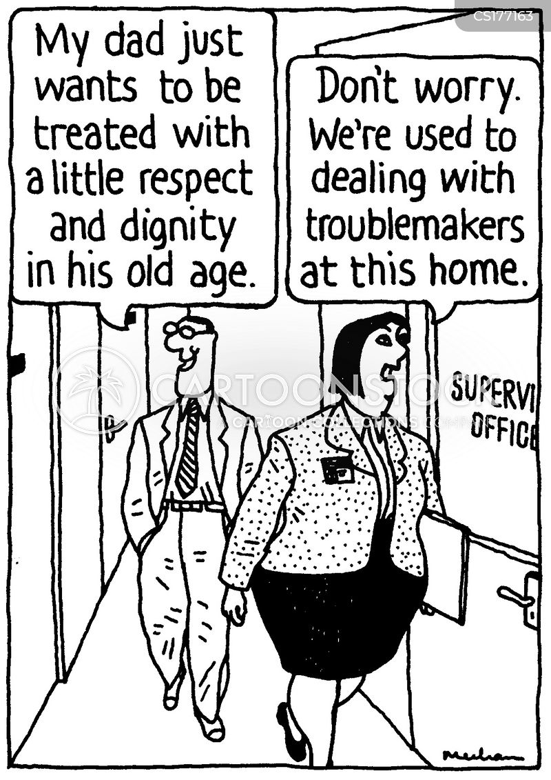 Old People S Home Cartoons And Comics Funny Pictures