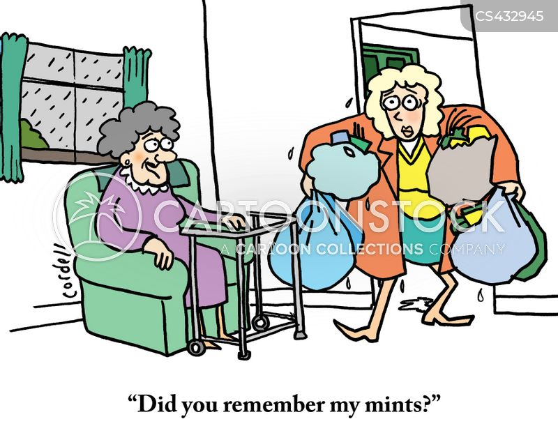 elderly parent cartoons and comics funny pictures from