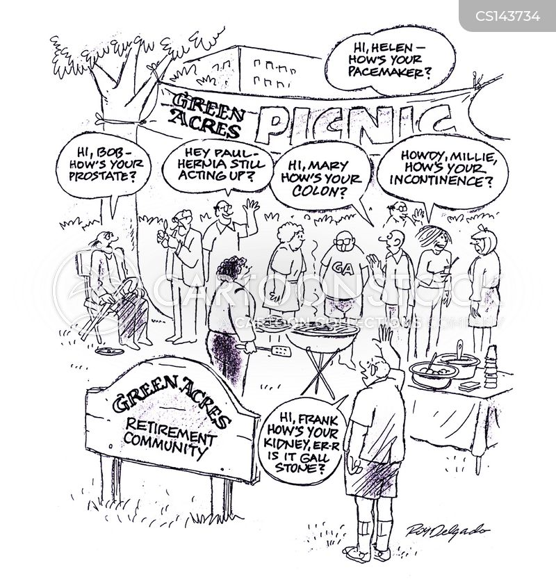Retirement Community Cartoons And Comics Funny Pictures