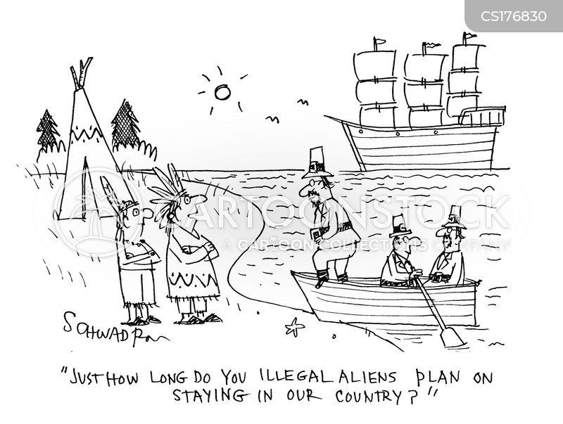 Mayflower Cartoon, Mayflower Cartoons, Mayflower Bild, Mayflower Bilder, Mayflower Karikatur, Mayflower Karikaturen, Mayflower Illustration, Mayflower Illustrationen, Mayflower Witzzeichnung, Mayflower Witzzeichnungen