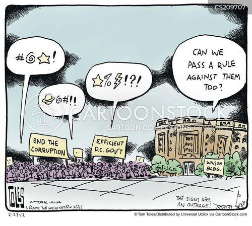 Politics Washington Dc Politicians Senate Corrupt Political Problem Ttl Low on Legislative Branch Political Cartoons