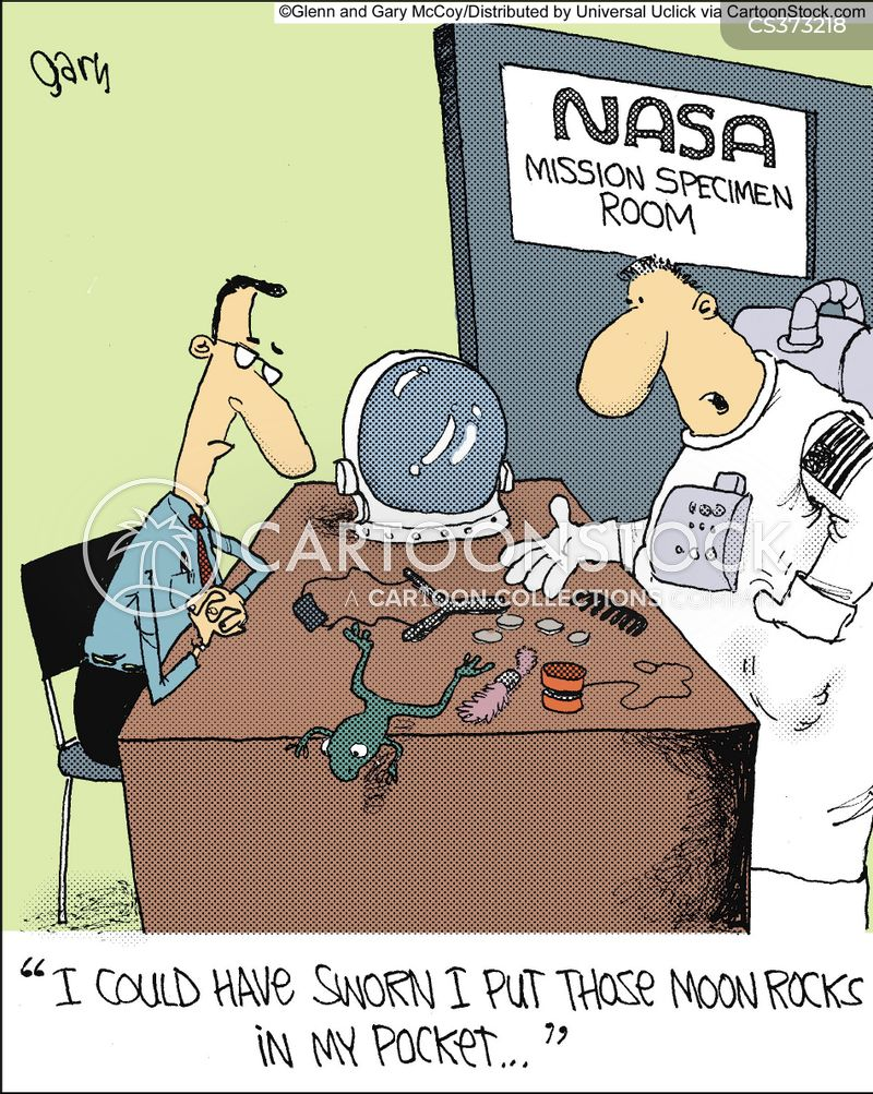 Space Man Cartoons and Comics - funny pictures from ...