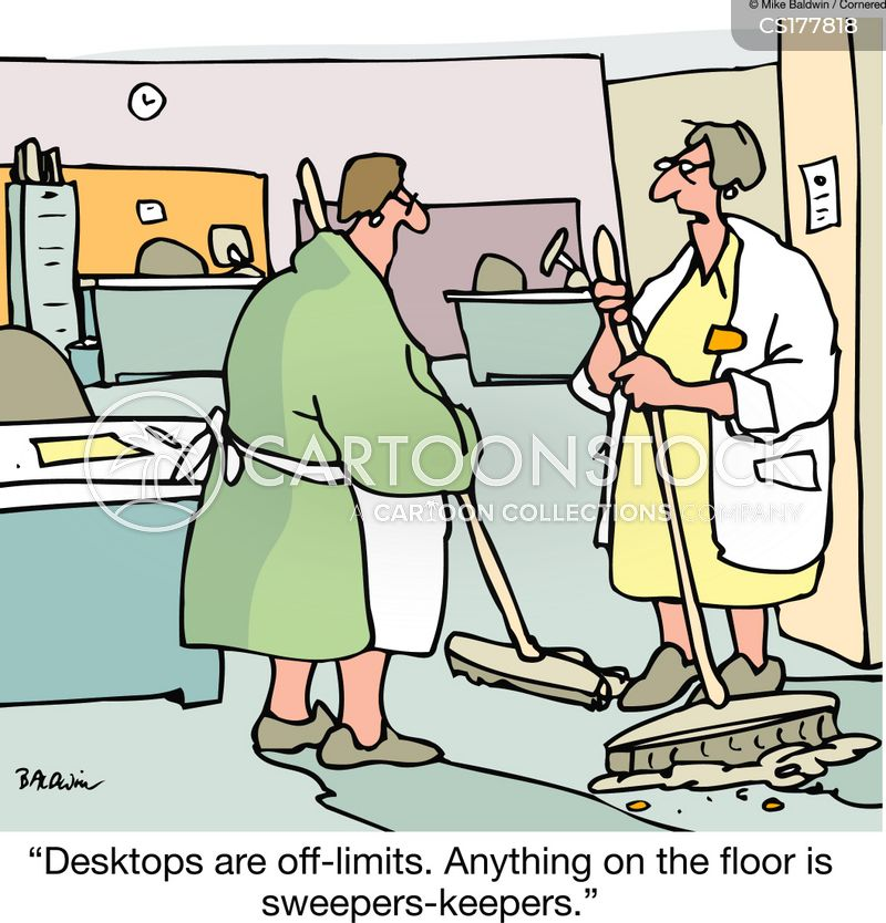 Office Cleaners Cartoons And Comics Funny Pictures From